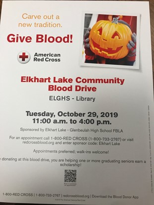 ELGHS Blood Drive